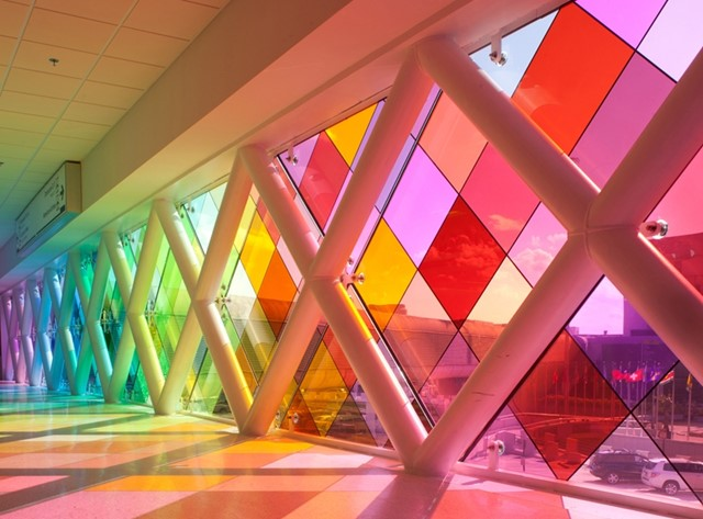 Harmonic Convergence by Christopher Janney, Miami International Airport