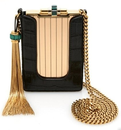 GUCCI SS2012 STRUCTURED EVENING BAG