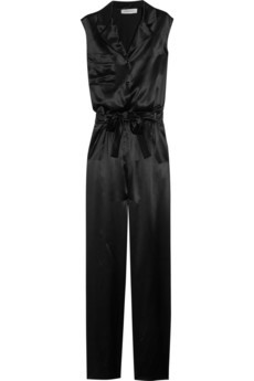 Yves Saint Laurent silk jumpsuit
