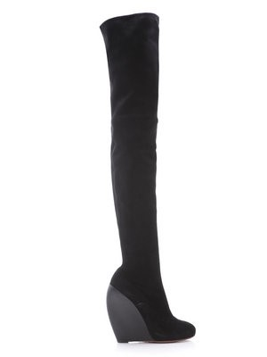 Azzedine Alaïa thigh-high boots
