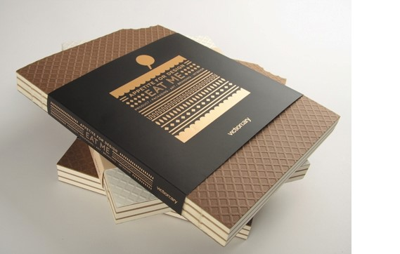 Appetite Design 'Eat Me' wafer biscuit book