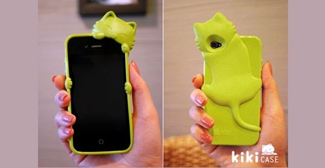 iPhone Kitten Case