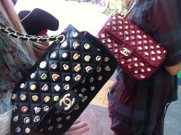 Customised CHANEL bags