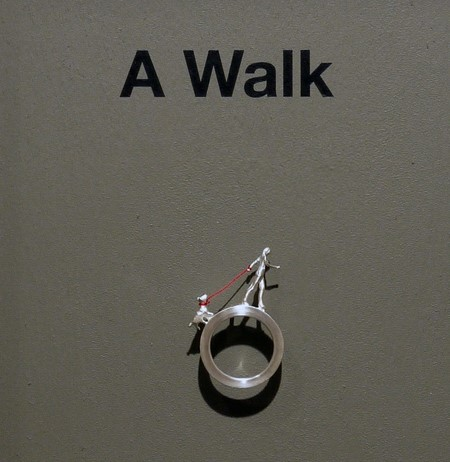 A Walk, pin brooch by Moon Young Shin