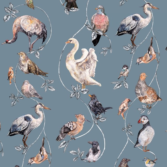 Flight of Fancy wallpaper by  House of Hackney