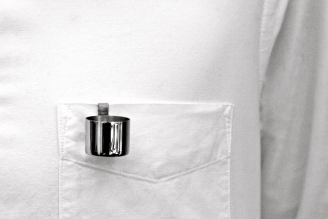 MAISON MARTIN MARGIELA POCKET ASHTRAY.