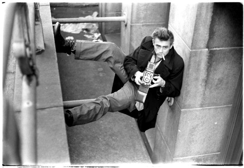 James Dean, New York, 1954, photography Roy Schatt