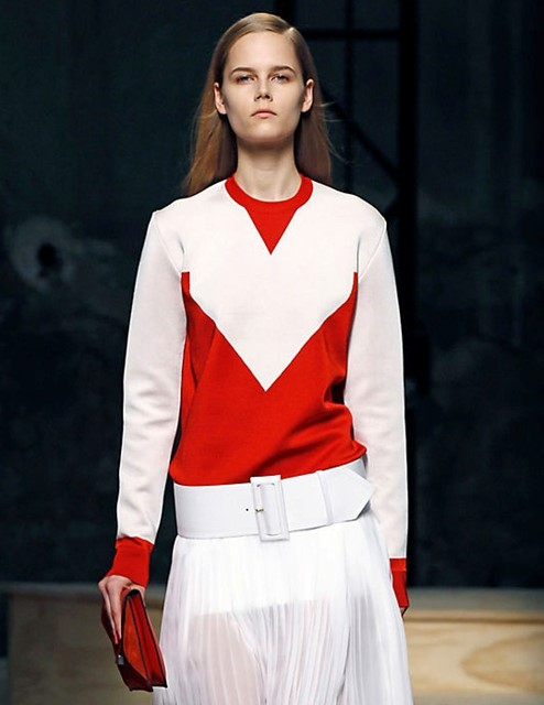 CÉLINE Poppy crew neck sweater