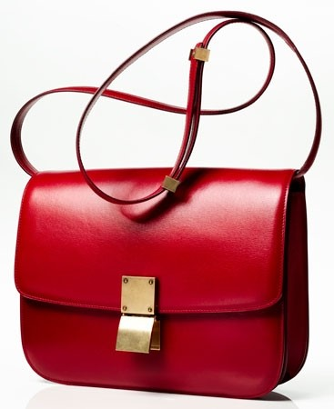 CÉLINE flap bag