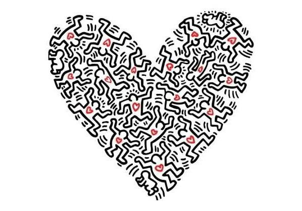 KEITH HARING'S HYMN TO LOVE