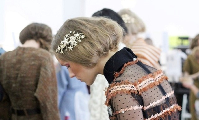 Star hair slide by odette at Rodarte A/W12