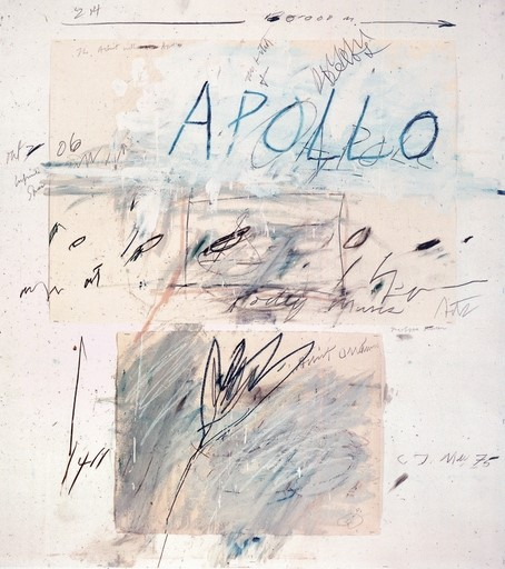 'Apollo and the Artist' by Cy Twombly, 1975