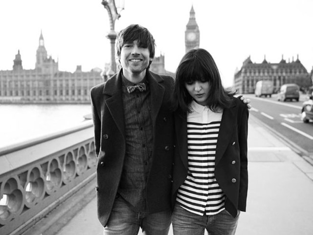 Irina Lazareanu & Alex James for Aubin & Wills