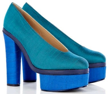 Acne Alice shoes in turquoise