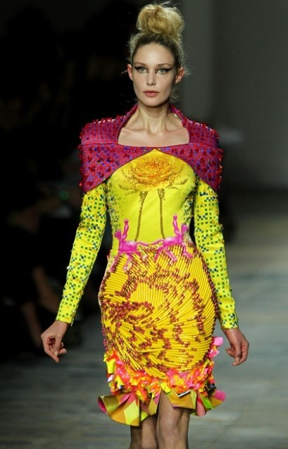 Mary Katrantzou 'Pencil' skirt, A/W 2012