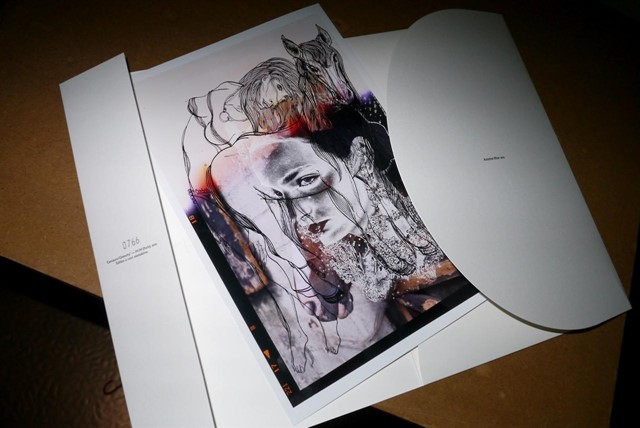 Givenchy AWS12 show invite by M/M Paris