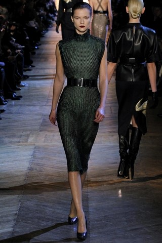 KASIA STRUSS IN YSL FALL/WINTER 2012