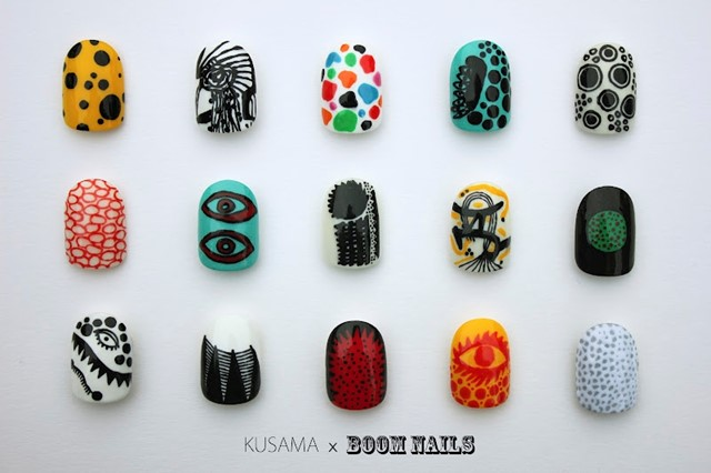 "Boom Nails for ""Infinite Kusama"" at The Tate Modern"