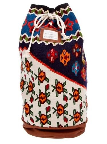 A KIND OF GUISE: 'The Kilim Project' Rucksack