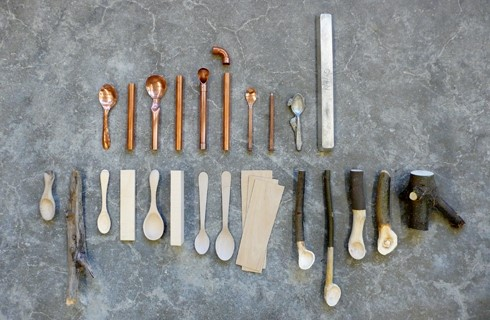 MAX LAMB - collection of hand made spoons