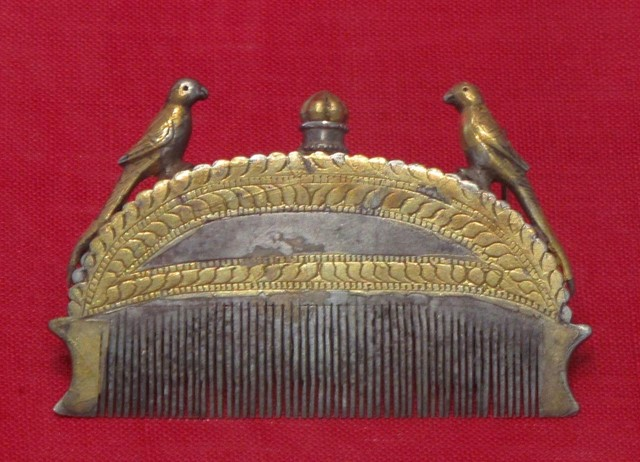 Antique Malaysian hair comb