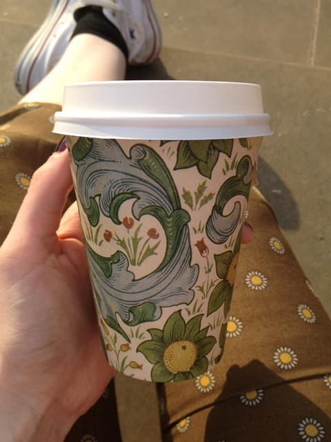 William Morris Take-Away Cups at the V&A
