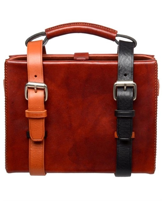 "Acne ""Ralston"" mini leather briefcase"