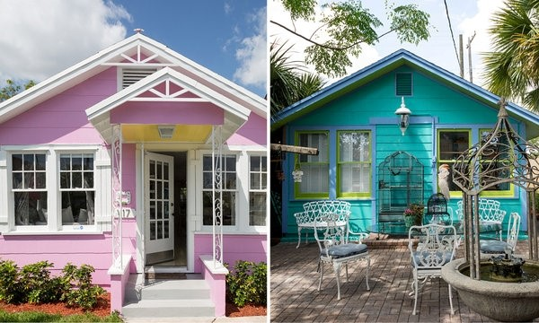 Robert Pardo and Laura Ann Jacobs' 1920s bungalows, Lake Worth, South Florida