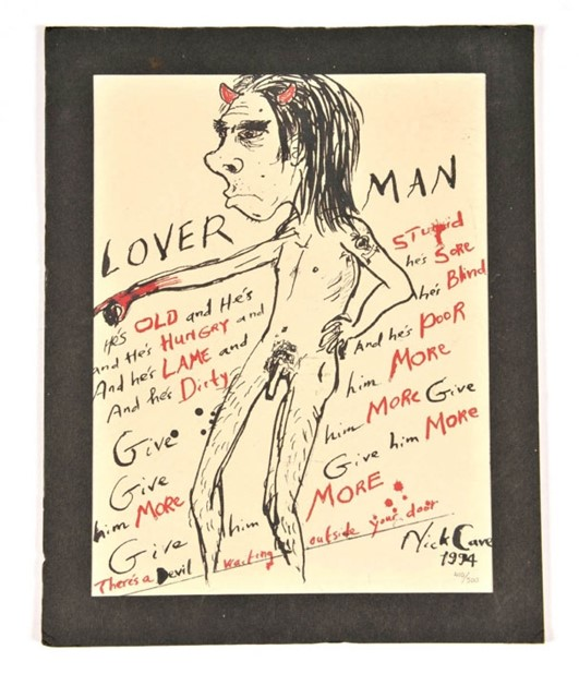 NICK CAVE X LOVERMAN