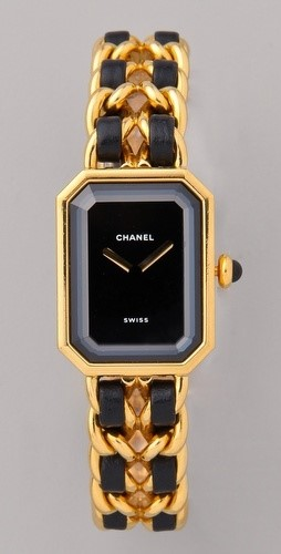 Vintage Chanel Leather Watch