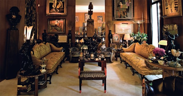 YSL's Grand Salon (pre-auction)