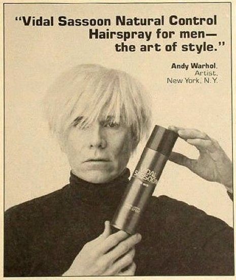 Vintage Vidal Sassoon advert, 1985