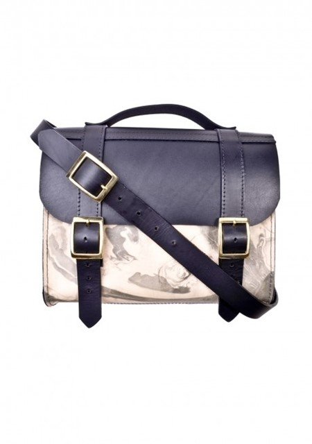 The Marble Satchel from NEW BRIT Danielle Foster