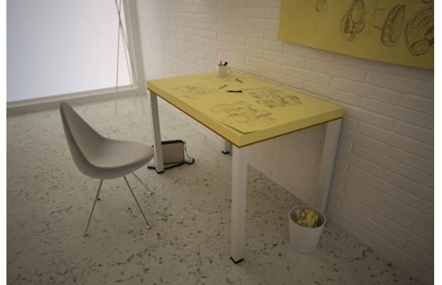 POST-IT NOTES TABLE 'POST-ITABLE' BY SOUP STUDIO DESIGN