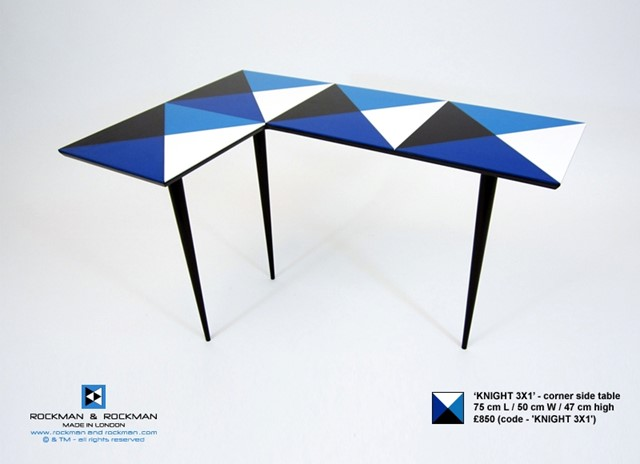 KNIGHT 3X1 Corner Table