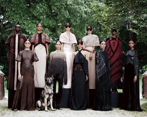 Givenchy Haute Couture by Riccardo Tisci A/W12