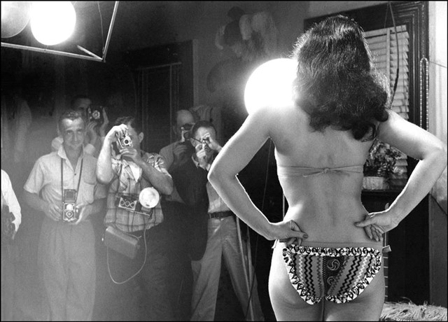 Bettie Paige by Weegee