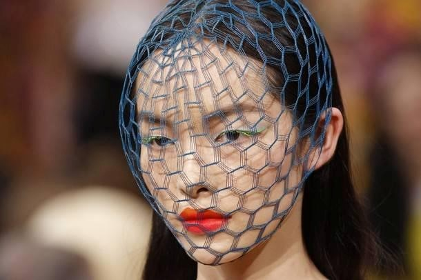 Nets by Stephen Jones for Christian Dior couture