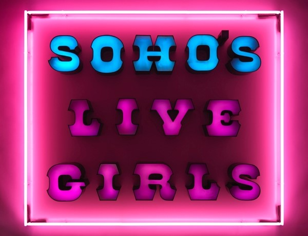 SOHO'S LIVE GIRLS NEON