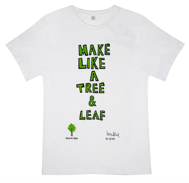 MARKUS LUPFER X TREES FOR CITIES | Official 2012 Tee