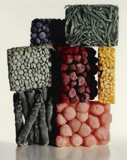 Frozen Food (with String Beans), Irving Penn, 1977