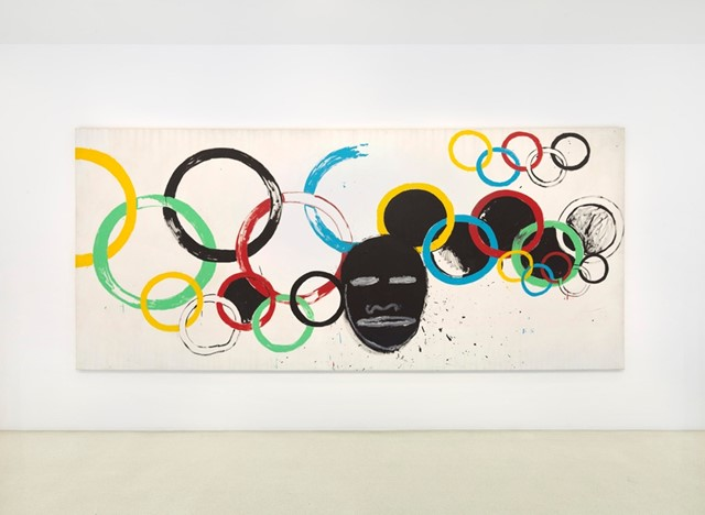 Warhol x Basquiat Olympic Rings, 1985