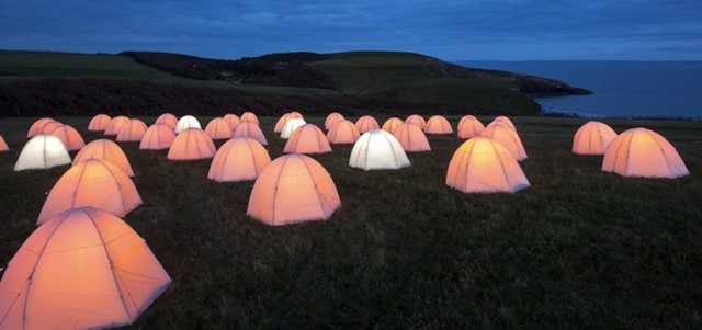 Peace Camp Costal Installation