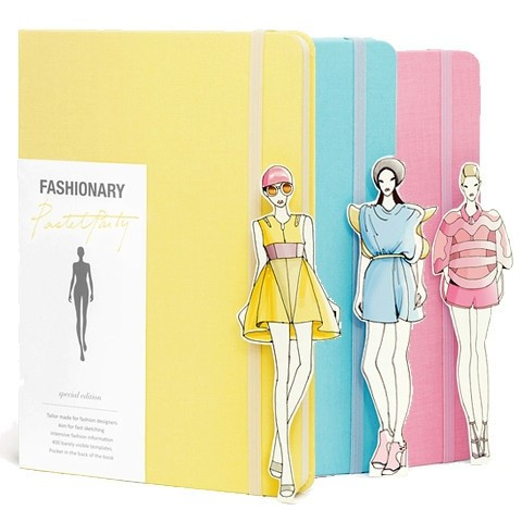 Fashionary notebook - Special Pastel Party Edition