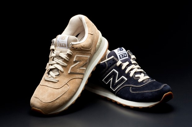 New Balance ML574 Pigskin Suede