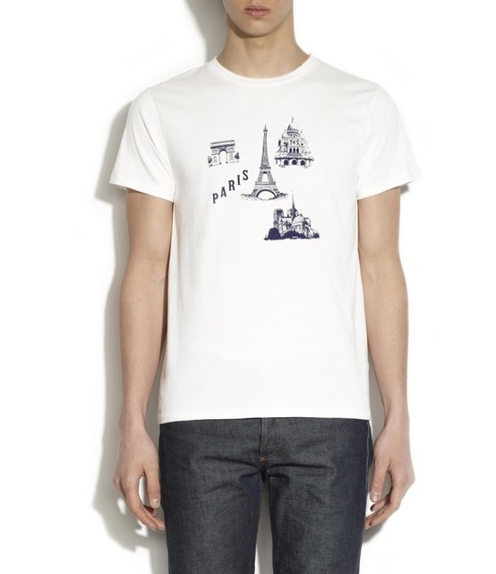 APC T-shirt Paris