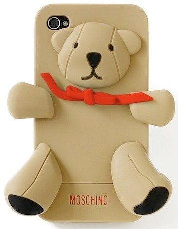 Moschino's The Gennarino Bear iPhone cover