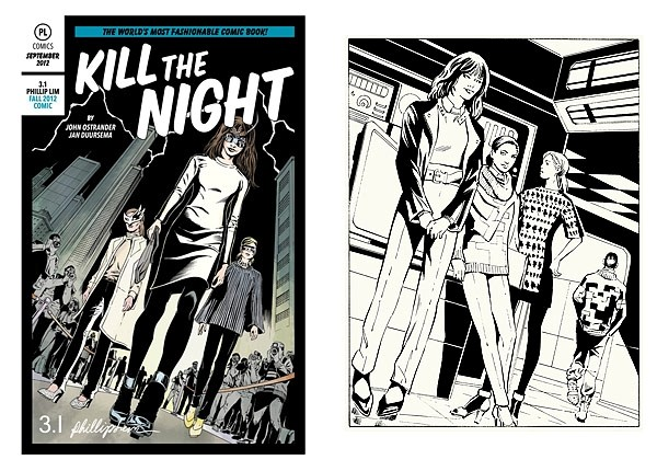 Comic book by 3.1 Phillip Lim