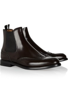 Church's Ketsby polished-leather Chelsea boots