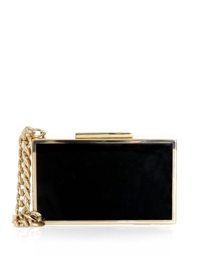 Lanvin cigarette case box clutch